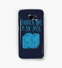 The Swimmer Has a Six-Pack (Light Blue) Samsung Galaxy Case/Skin