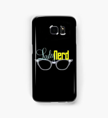 Proud LadyNerd (Grey Glasses) Samsung Galaxy Case/Skin