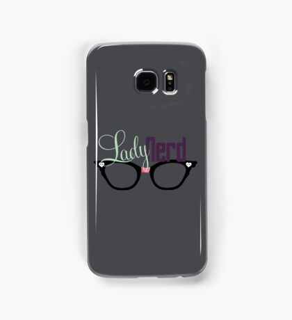 Proud LadyNerd (Black Glasses) Samsung Galaxy Case/Skin