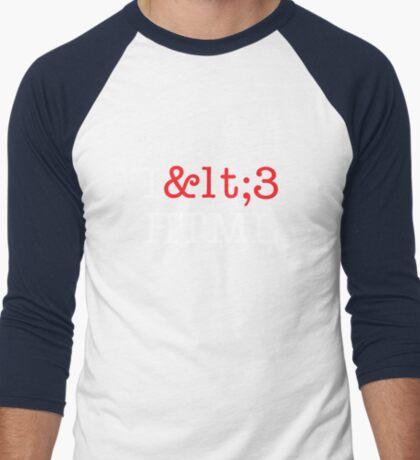 I <3 HTML (dark) T-Shirt