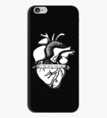 Jet Black Herz iPhone-Hülle & Cover