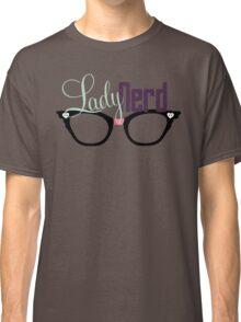 Proud LadyNerd (Black Glasses) Classic T-Shirt