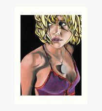 Britney Murphy Art Print