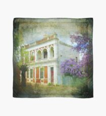 Old House with Wisteria Scarf