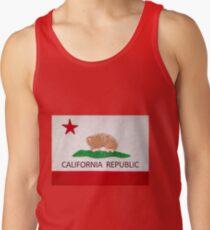 California Water Bear Flag Tank Top
