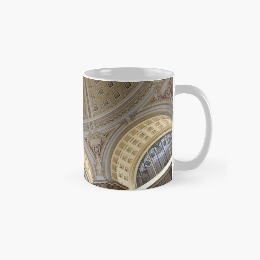 Ceiling of the Library of Congress Reading Room Classic Mug