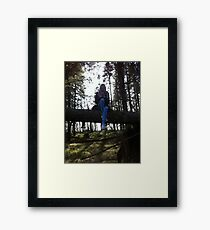 lonely nature Framed Print