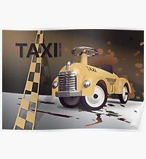 Vector Taxi Poster