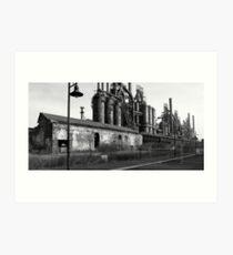 Requiem for A Steelmill Art Print