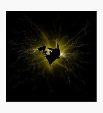power pikachu Photographic Print