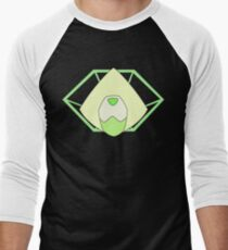 Peridot  Men's Baseball ¾ T-Shirt
