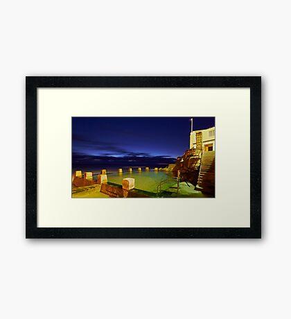 Ross Jones Memorial Pool  - Coogee NSW Framed Print