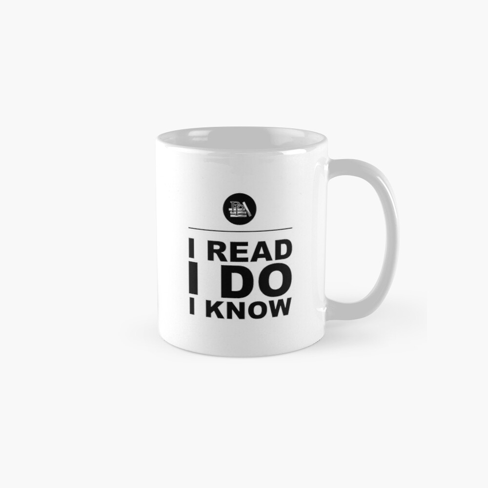 I Read. I Do. I Know. Pragmatic Bookshelf. Mug Classic Mug