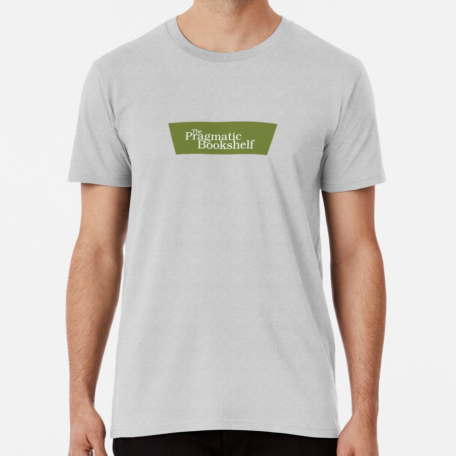 Green and White PragProg Tab Logo - T-Shirt Premium T-Shirt