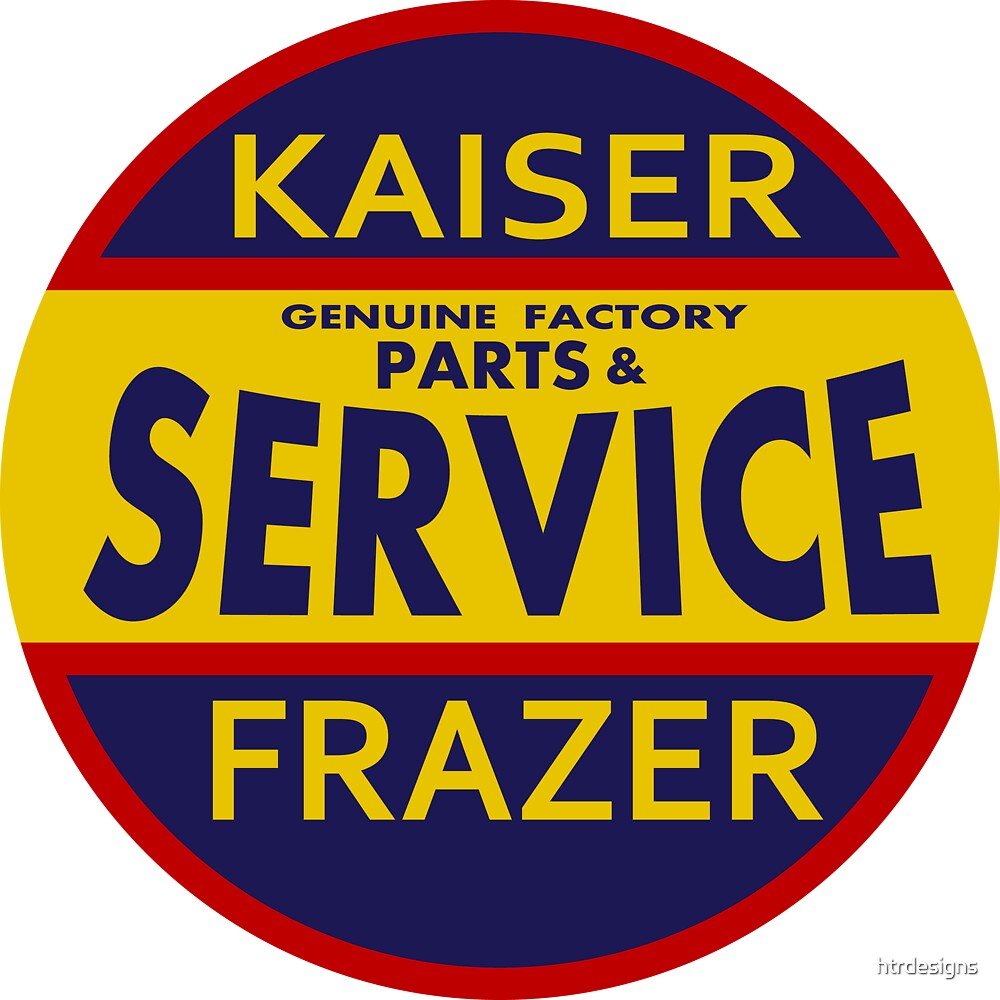 Kaiser Frazer Approved Service vintage sign by htrdesigns