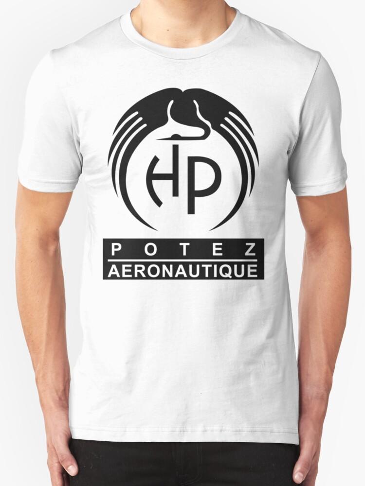 Potez aircraft company logo t shirts hoodies by for T shirts for business logo