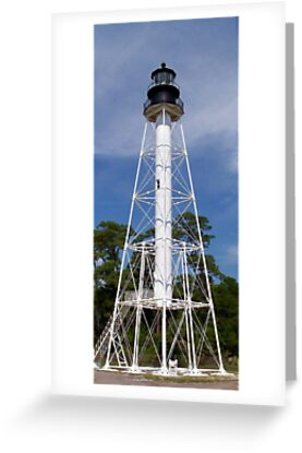 Cape San Blas Lighthouse by Laurie Perry