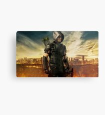Arrow Season 4 | Green Arrow | Oliver Queen | Stephen Amell Metal Print