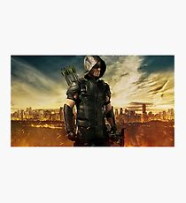 Arrow Season 4 | Green Arrow | Oliver Queen | Stephen Amell Photographic Print