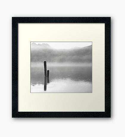Fog Dreams Framed Print