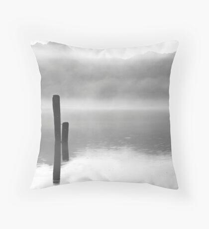 Fog Dreams Throw Pillow