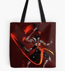 The Black Queen's Knight Tote Bag