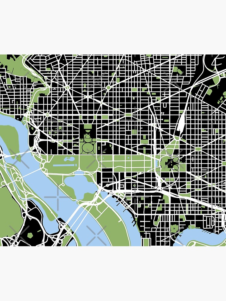 Map of Washington, DC by DC-Confidential
