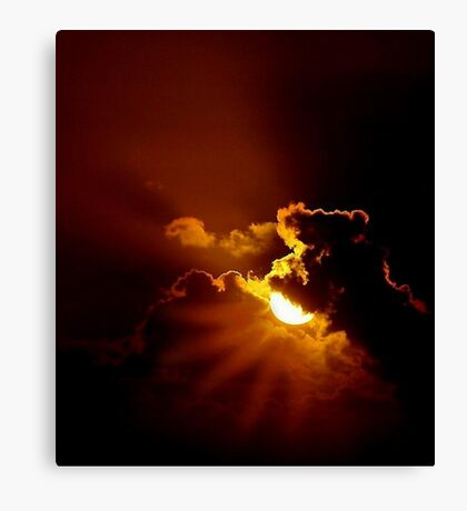 MIDNIGHT SUN Canvas Print