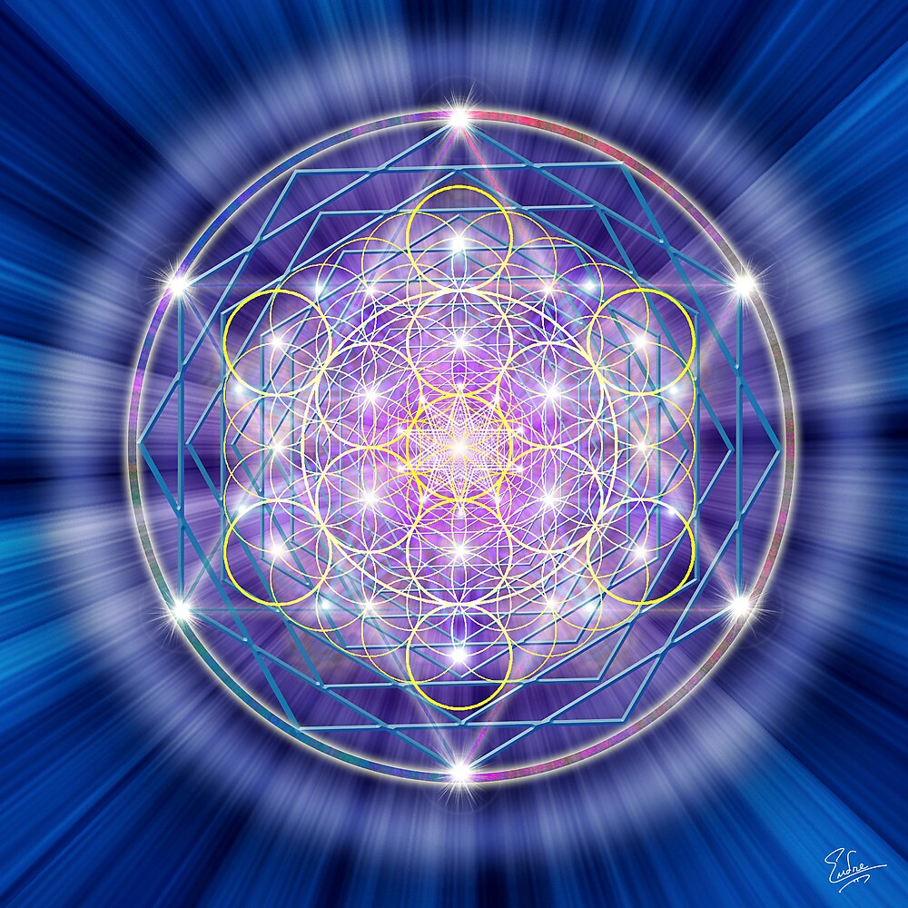 Sacred Geometry 46 by Endre