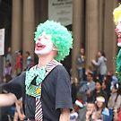 clowns by dennis wingard