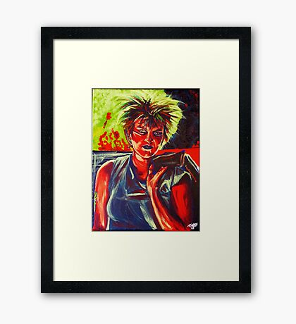 Punkarella abstract Framed Print