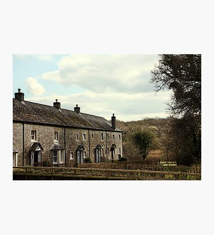 Crom Estate Cottages Photographic Print