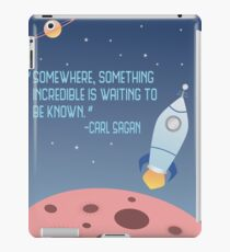 Waiting to be Known iPad Case/Skin