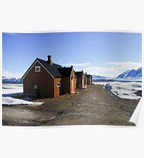 Deserted Spitzbergen Poster