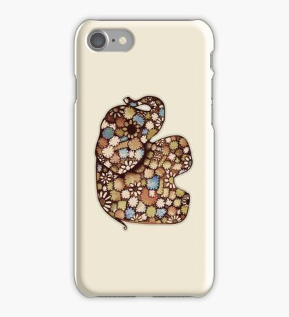 Patchwork Elephant iPhone Case/Skin