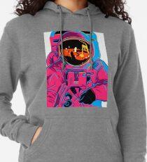 Trippy Rainbow Astronaut Lightweight Hoodie