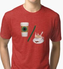 Coffee Percentage Tri-blend T-Shirt