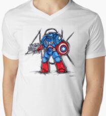 Cap'n Warhammer V-Neck T-Shirt