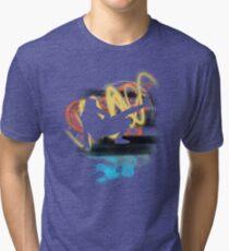 Music...ENERGY! Cool! Let's dance! Tri-blend T-Shirt
