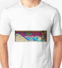 Mural, Grafton, New South Wales, Australia (panorama) T-Shirt