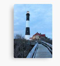 Long Island Lighthouse, Fire Island Canvas Print