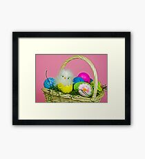 Easter Chick Framed Print