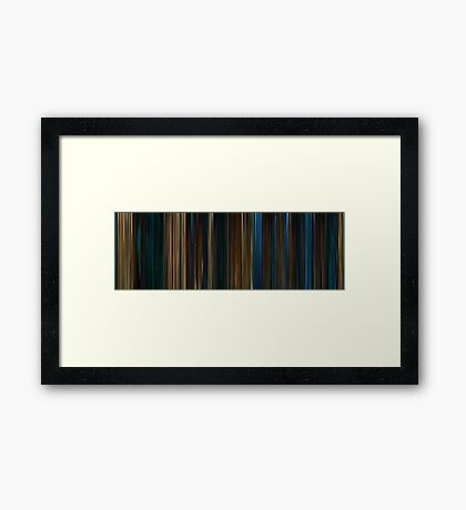 Moviebarcode: Pan's Labyrinth (2006) Framed Print