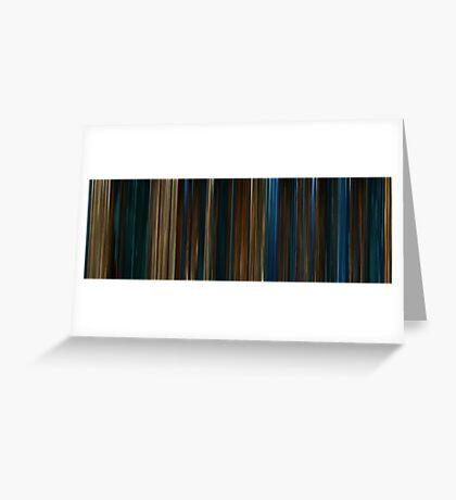 Moviebarcode: Pan's Labyrinth (2006) Greeting Card