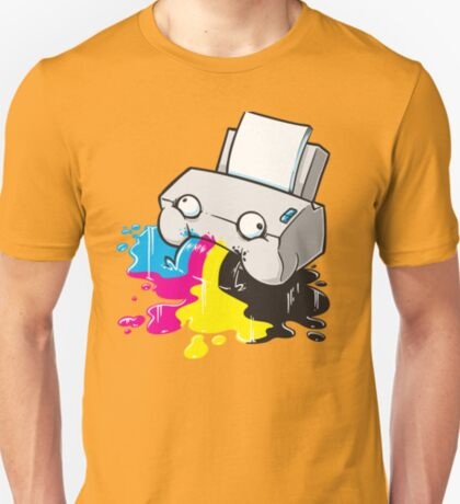 Puker Printer T-Shirt