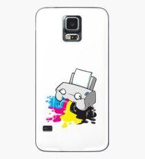 Puker Printer Case/Skin for Samsung Galaxy
