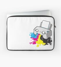 Puker Printer Laptop Sleeve