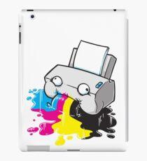 Puker Printer iPad Case/Skin