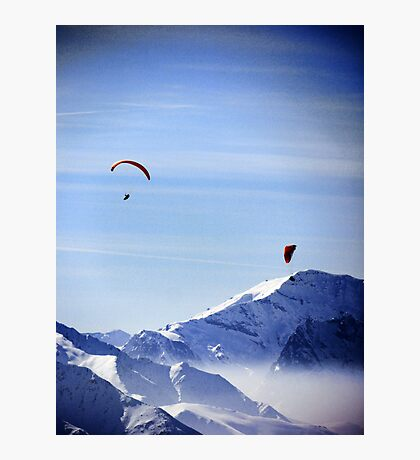 Lost in the Joy of the Mountains Photographic Print