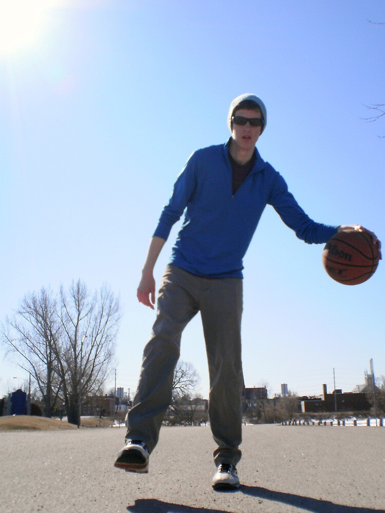 Action: They're playing basketball, We love that basketball (John) by frkystyly